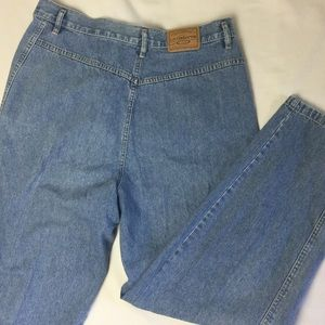 Vintage Super High Waist Bareback Denim Jeans